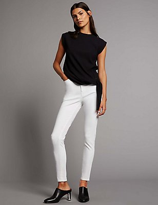 Contour Mid Rise Skinny Leg Jeans, SOFT WHITE, catlanding