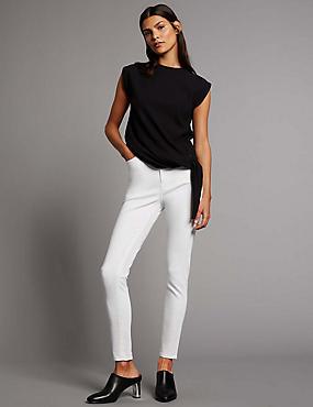 Contour– Jean skinny taille normale, BLANC DOUX, catlanding