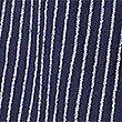 Cotton Blend Striped A-Line Midi Skirt, NAVY STRIPE, swatch