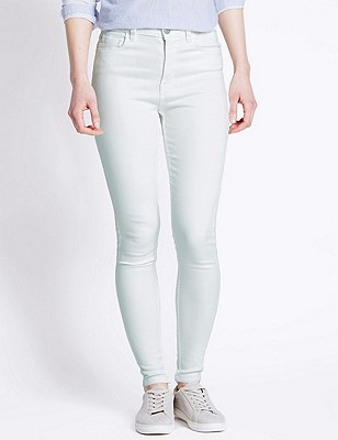 5 Pocket Jeggings, WINTER WHITE, catlanding