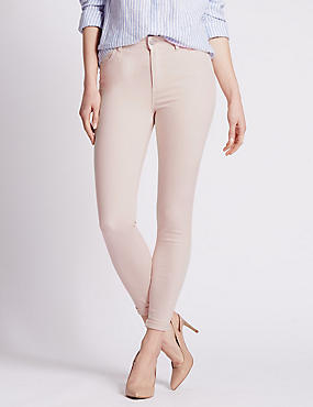5 Pocket Super Skinny Jeans, LIGHT PINK, catlanding