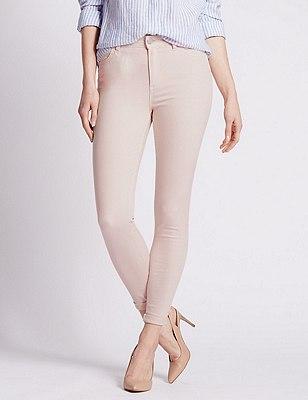 5 Pocket Super Skinny Jeans, LIGHT PINK, catlanding