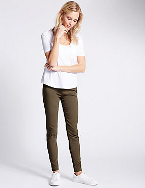 Jeggings 5poches coupe très skinny, TAUPE, catlanding