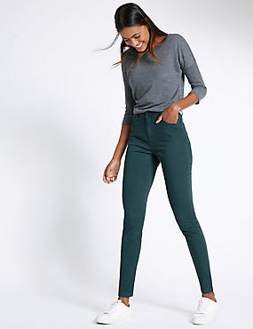 Superskinny jeggings met 5 zakken, , catlanding