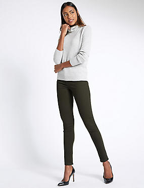 Superskinny jeggings met 5 zakken, BAST, catlanding