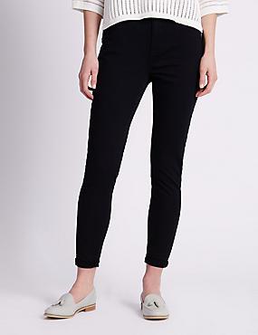 5 Pocket Super Skinny Jeans, INDIGO, catlanding