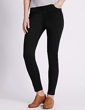 5 Pocket Super Skinny Jeans, BLACK, catlanding