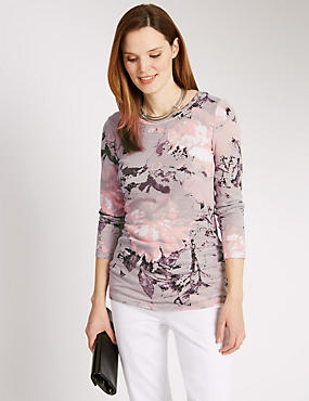 Watercolour Floral Tunic