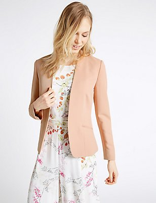 Edge To Edge Jacket , BLUSH, catlanding