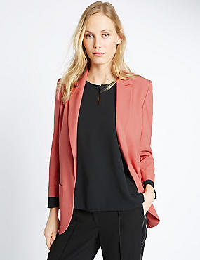 Patch Pocket Jacket, COPPER ROSE, catlanding