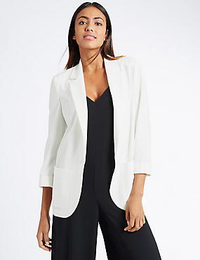 Patch Pocket Jacket, IVORY, catlanding