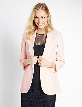 Patch Pocket Jacket, PALE PINK, catlanding