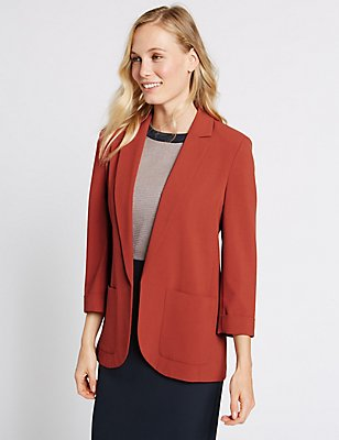 Patch Pocket Jacket, SIENNA, catlanding