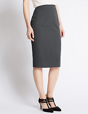 Curved Pencil Skirt