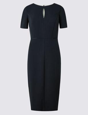 Прямое платье Grosgrain M&S Collection T591520D