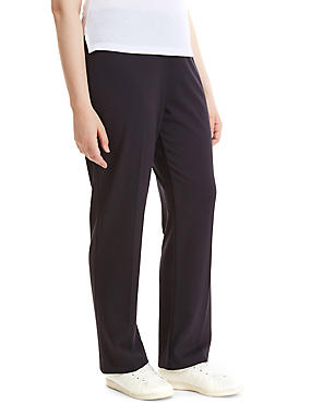 PLUS Slim Leg Trousers, DARK NAVY, catlanding