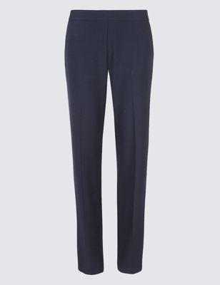 Прямые брюки с косыми боковыми карманами от Marks & Spencer
