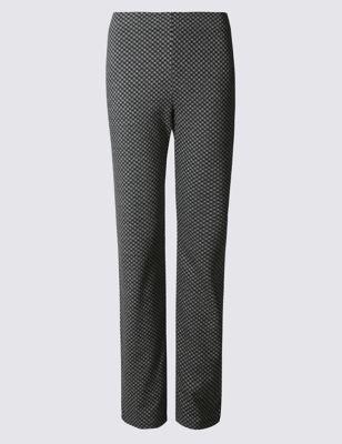 Прямые брюки с добавлением эластана от Marks & Spencer
