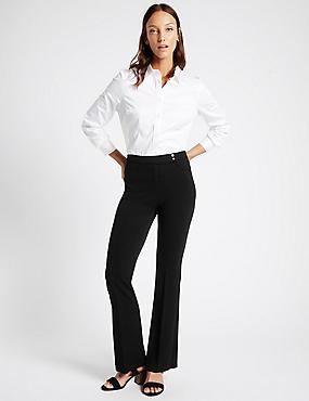 Pantalon bootleg, NOIR, catlanding