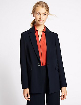 Twin Pocket Jacket, NAVY, catlanding