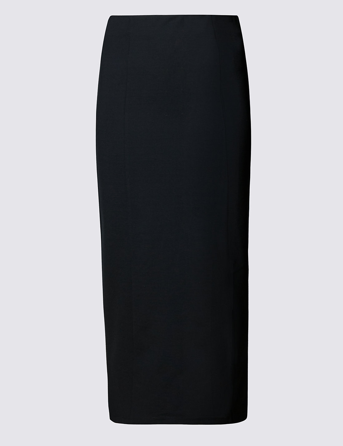 Column Long Pencil Skirt | M&S