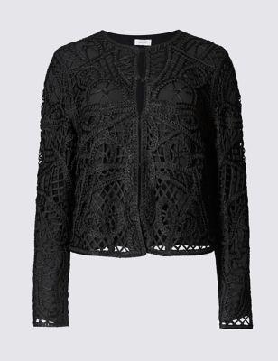 Wedding Lace Jacket cropped lace jacket ms jacket