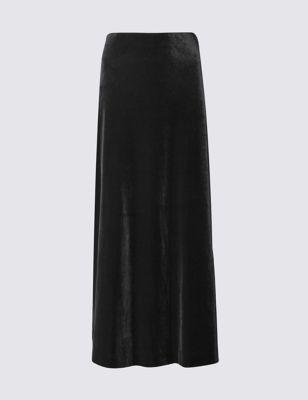 Велюровая юбка Column M&S Collection T594053