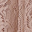Cotton Blend Lace A-Line Skirt, BLUSH, swatch