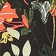 Printed Midi Skirt, BLACK MIX, swatch
