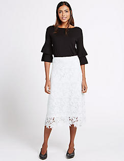 Skirts For Women | Ladies Short & Long Skirts | M&S ES
