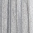 Pleated Metallic A-Line Midi Skirt, SILVER, swatch