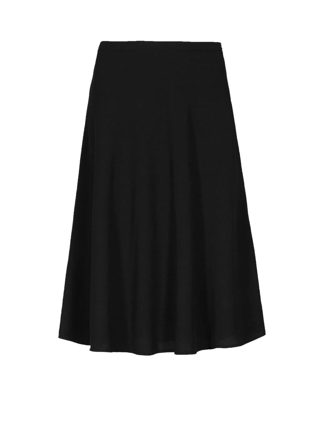 A Line Skirt Knee Length - Skirts