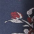 Tie Waist Floral Print A-Line Skirt, NAVY MIX, swatch