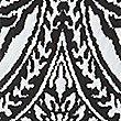 Paisley Print A-Line Skirt, BLACK MIX, swatch