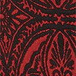 Paisley Print Pencil Midi Skirt, RED MIX, swatch