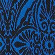 Paisley Print Pencil Midi Skirt, BRIGHT BLUE MIX, swatch