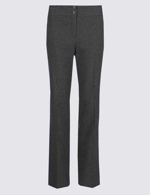 Прямые брюки Crease resistant