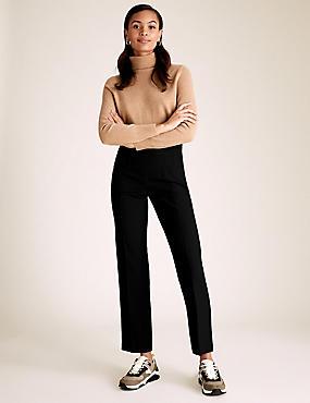 Pantalon coupe droite standard, NOIR, catlanding