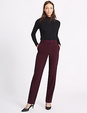 Pantalon coupe droite, Bordeaux, catlanding