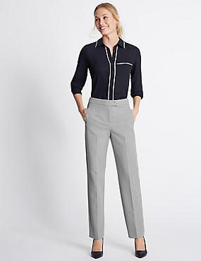Pantalon coupe droite, GRIS, catlanding