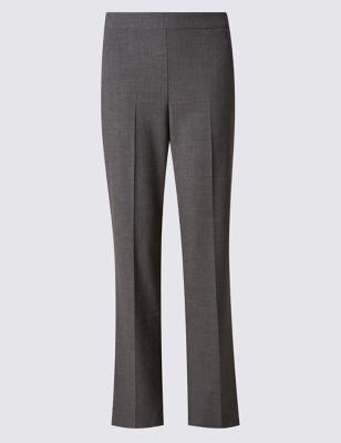 Прямые брюки с добавлением вискозы