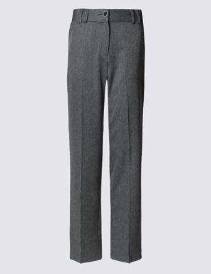 Офисные прямые брюки со стрелками от Marks & Spencer