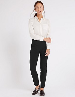 Pantalon slim moderne, NOIR, catlanding