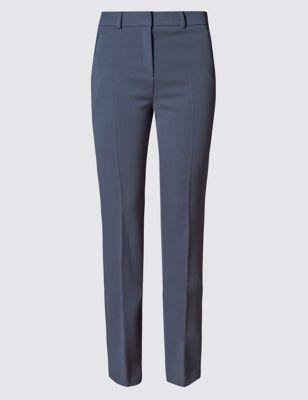 Узкие офисные брюки со стрелками