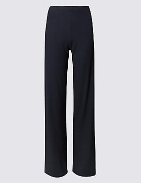 PLUS Wide Leg Trousers, NAVY, catlanding