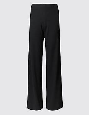 PLUS – Pantalon large, NOIR, catlanding