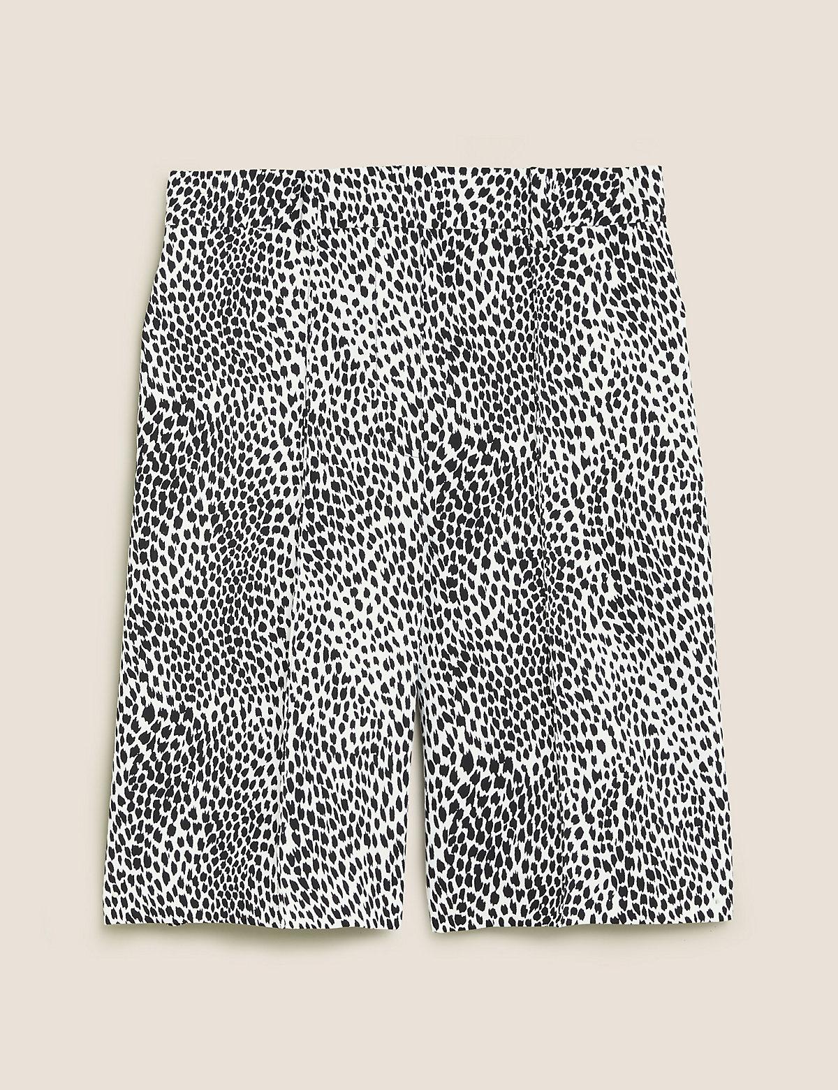 Женские шорты с животным принтом