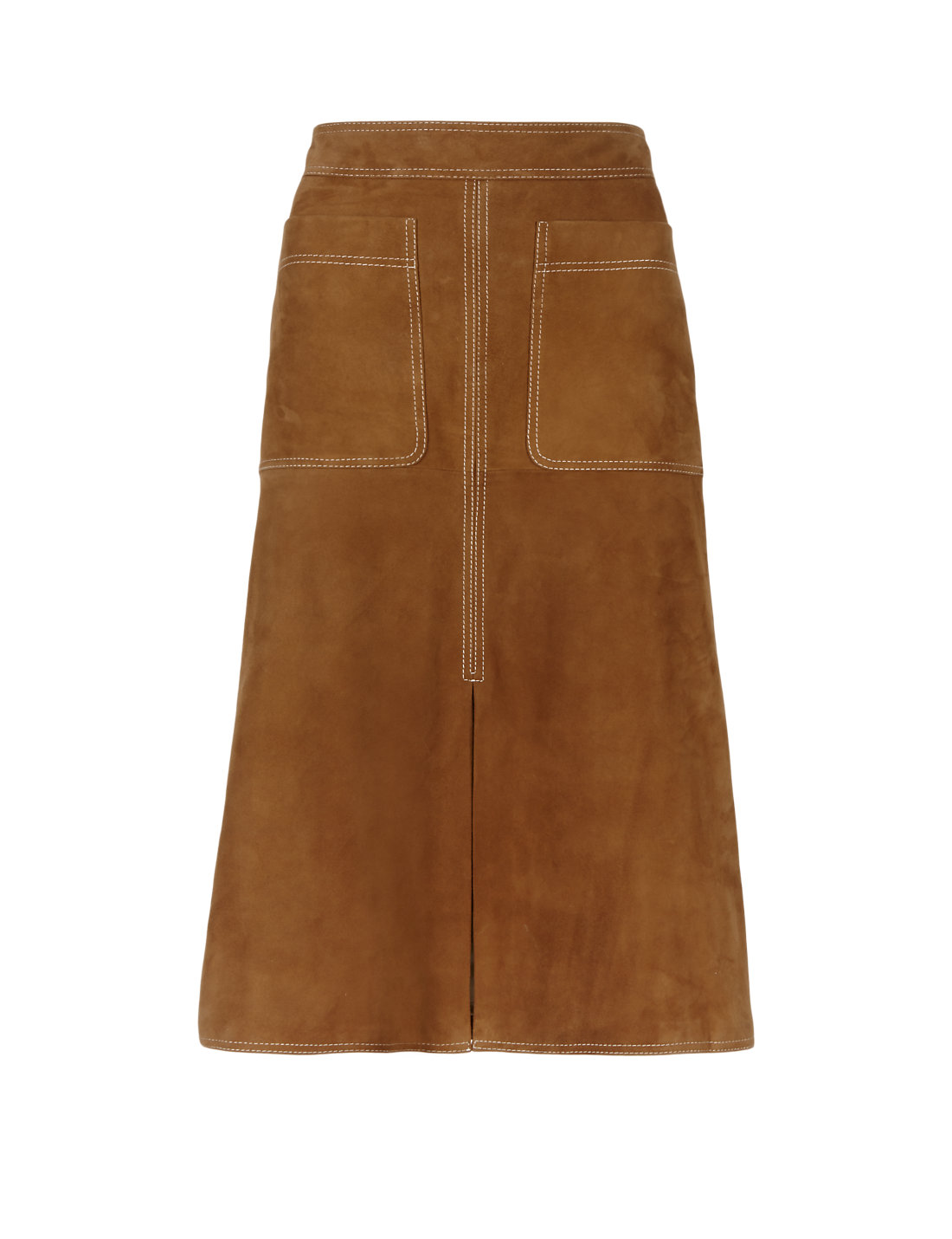 Suede A-Line Skirt | M&S