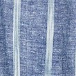 Linen Blend Striped Wide Leg Trousers, BLUE MIX, swatch