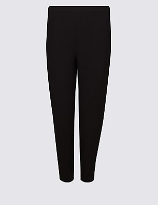 PLUS Soft Tapered Joggers, BLACK, catlanding
